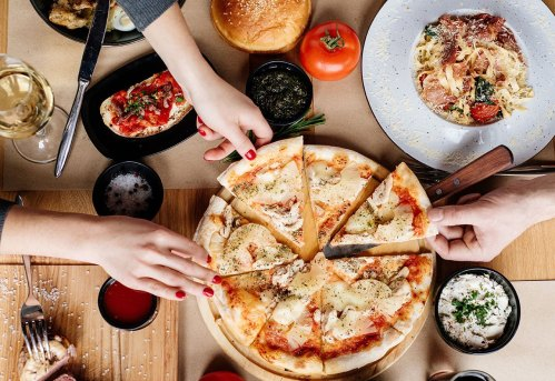 Pizza, Pasta & Risotto